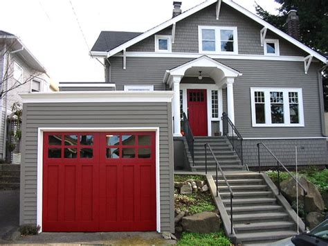 red door on house i married a tree hugger craftsman education