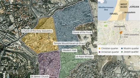 sections of christianity what makes jerusalem so holy bbc news