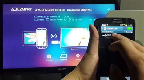 Alat Smart Tv cara menghubungkan miracast pada smartphone tablet dengan smart tv begawei