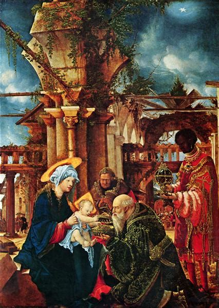 the adoration of the magi c 1530 1535 albrecht altdorfer wikiart org