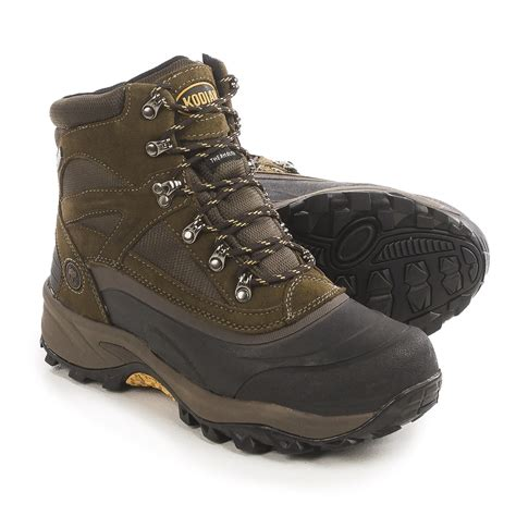 kodiak mens boots kodiak mackenzie snow boots for 145hw save 88