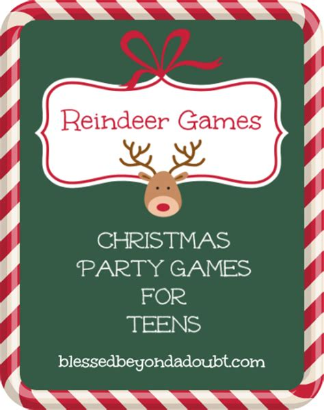 printable games for christmas party printable christmas party games for teens it s free