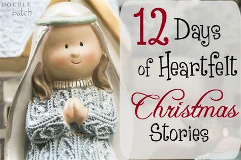 christmas days 12 stories 12 days of heartfelt christmas stories