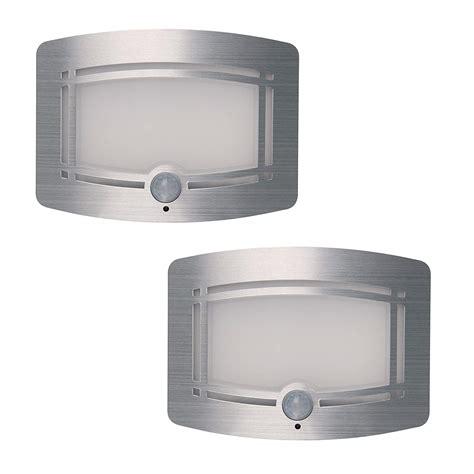 2pcs led wireless light operated motion sensor battery