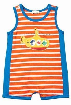 Top Baby Yellow le top baby boys orange blue romper yellow submarine