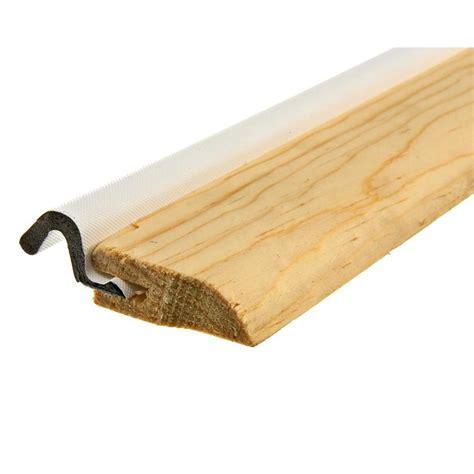 Wooden Exterior Door Threshold Shop King 1 1 2 X 17 Wood Wood And Foam Door Threshold At Lowes