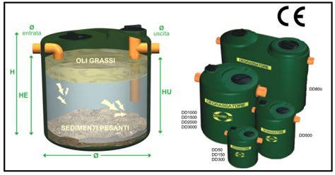 degrassatori per cucine il degrassatore elemento necessario nella fognatura domestica