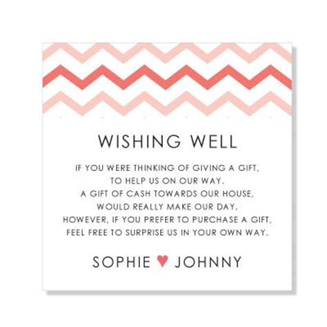 wording for bridal shower invitations wishing well the world s catalog of ideas