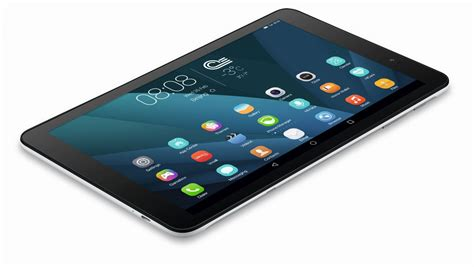Tablet Huawei T1 10 huawei mediapad t1 10 on 10 inches of