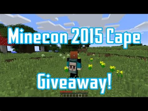 Free Minecon Cape Giveaway - full download how to get a minecon 2015 cape free giveaway