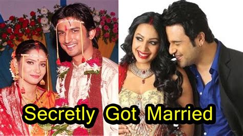 hollywood celebrities who got married in india 9 famous indian television celebrity couples who secretly