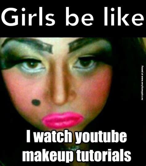 Fake Eyebrows Meme - makeup meme