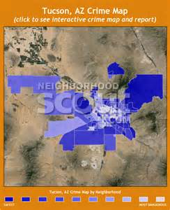 arizona crime map tucson crime rates and statistics neighborhoodscout