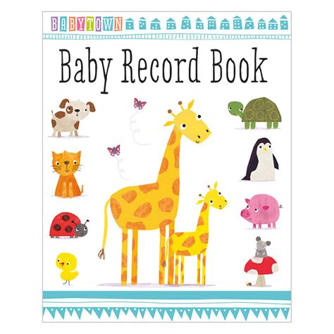 baby book pictures baby town baby record book make believe ideas uk