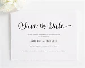 Exceptional Wedding Invitations Addressing #7: Stylish-script-save-the-date.jpg