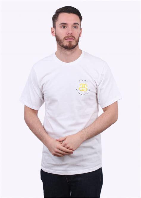 T Shirt Stussy Worldwide Inc stussy international white t shirts from triads uk