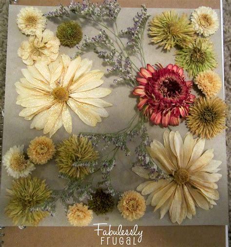 dried flowers diy dried flowers shadow box