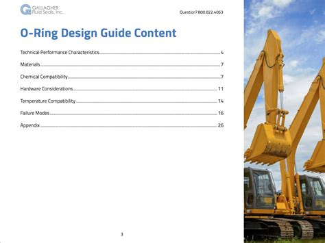 gasket design guidelines o ring design guide free download