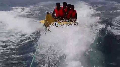 banana boat ride musandam musandam oman banana boat ride youtube
