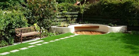 contemporary garden brown earth landscapes