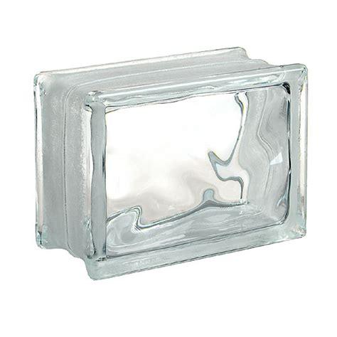 glass block glass block quot decora quot thin line glass block rona