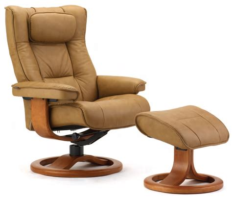 scandinavian leather recliner with ottoman fjords regent ergonomic leather recliner chair ottoman