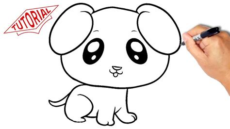 how to draw dogs how to draw a puppy simple easy step by step drawing lessons for