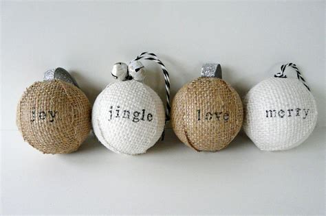 make sted burlap ornaments southern sass publications
