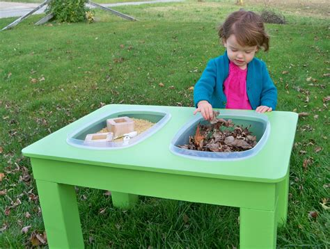 Diy Sensory Table by Raising A Low Media Toddler The Sensory Table To The Rescue