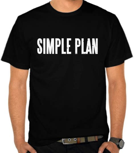 Kaos Jeff Adrien 1 Seven jual kaos simple plan logo 3 simple plan satubaju