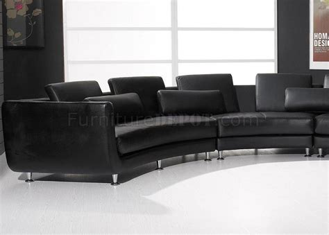 a94 top grain leather modern modular sectional sofa vig