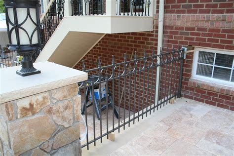 Wrought Iron Patio Railing by Patio Wrought Iron Railing Northern Va Wrought Iron