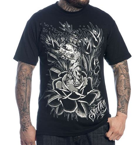 tattoo t shirts for men sullen collective clothing ink grown t shirt