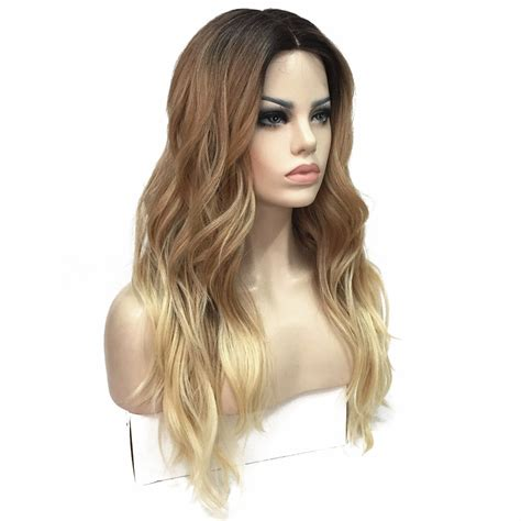 ombre synethic hair strongbeauty women s ombre wigs synthesis natural long