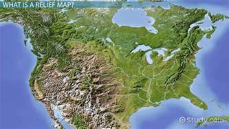 relief map relief map definition history use lesson