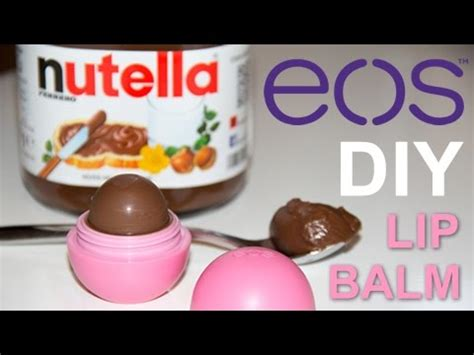 Nutella Lip Balm By Shoppasoap how to make nutella lip balm diy eos lip balm
