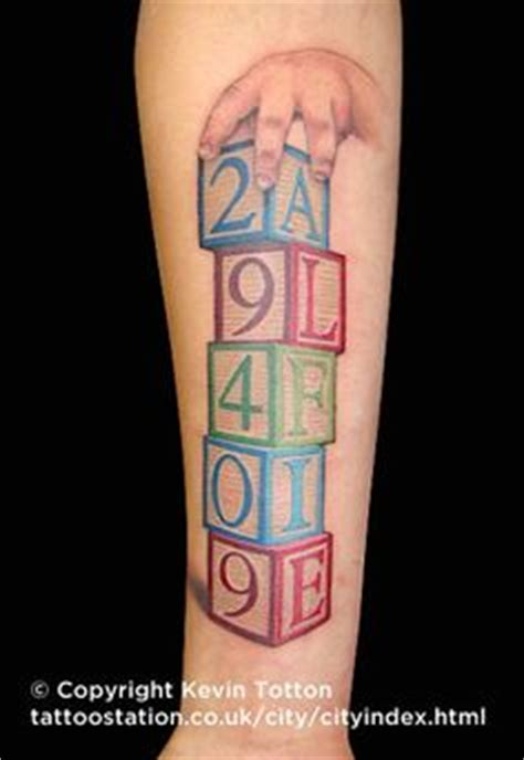 tattoo block lettering designs of blocks with letters spelling name tattoos