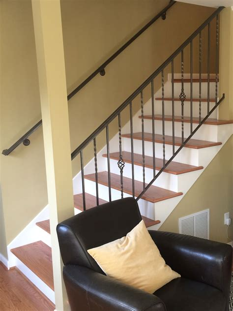 traditional handrail  guardrail  interior stairs