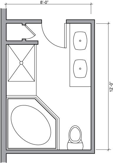 bathroom shower floor plans find house plans
