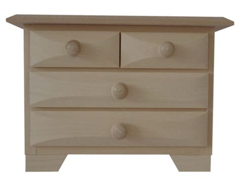 Pine Wood Chest Of Drawers by Pine Wood 4 Drawer Mini Chest Of Drawers