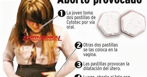 Cytotec 6 Semanas Dosis Causas Y Consecuencias De El Aborto Provocado A Traves Del