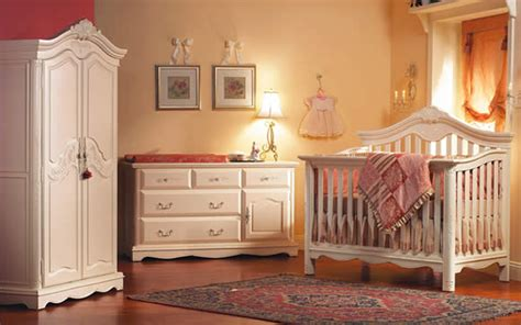modern baby nursery interior design ideas with wooden
