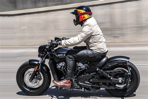Indian Moto Scout Bobber by Ride Review Indian Scout Bobber Motofire