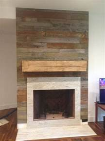 Wood For Fireplace Reclaimed Wood Fireplace Surround And Mantel Fireplaces