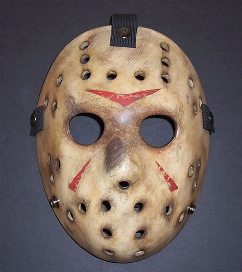 How To Make A Jason Mask Out Of Paper - neca 2009 20 jason mask review page 4 friday the