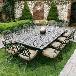 Cast Aluminum Patio Table White Metal Garden Table And Chairs Clean Modern Office