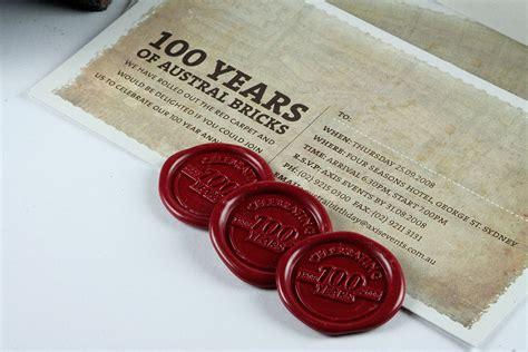 invitation designs ballarat austral bricks centenary invitation brown ink geelong