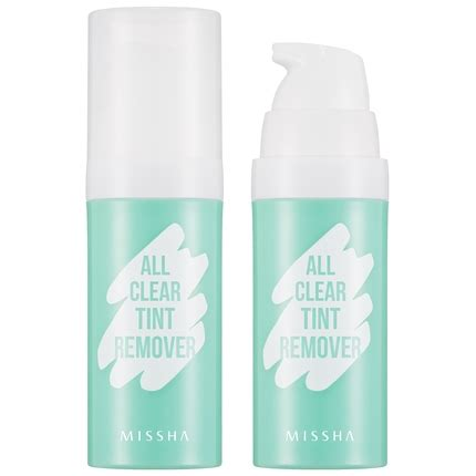 All Clear Tint Remover zzz missha all clear tint remover official missha baltics