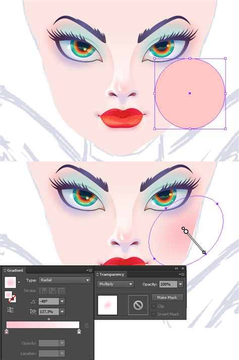 draw normal illustrator create the enchanting maleficent portrait in adobe illustrator