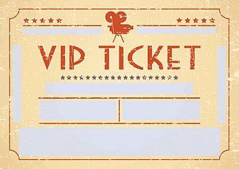 Word Vorlage Eintrittskarte vordruck einladung vorlagen